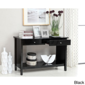 Furniture of America Corzi 2-drawer Console Table with Bottom Shelf