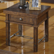 Castlegate Rustic Square End Table