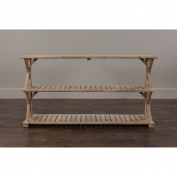 Decorative Promenade Rustic Wooden Console Table