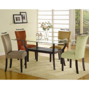 Mirage Microfiber Parson Chairs