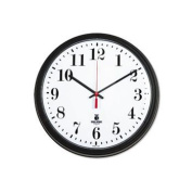 Chicago Lighthouse 33cm - 1.9cm Round Wall Clock Black ILC 67700002