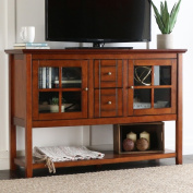 130cm Rustic Brown Wood Console Table/ Buffet