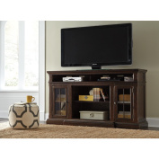 Signature Design by Ashley Roddinton Brown TV/Fireplace Stand