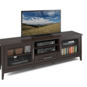 CorLiving Jackson 180cm Extra-wide TV Bench for TVs up to 150cm
