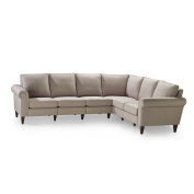 Avery Three Corner Two Sectional-Bisque