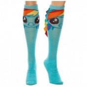 My Little Pony Rainbow Dash Ribbon Knee High Socks With Mane
