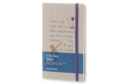 Moleskine 2017 Le Petit Prince Limited Edition Weekly Notebook, 12m, Large, Light Grey, Hard Cover