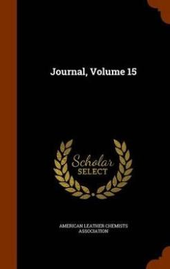 Journal, Volume 15
