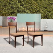Olivia Dining Room Brown Dining Chairs