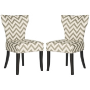 Safavieh Jappic Grey/ White Ring Side Chairs