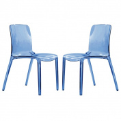 Laos Transparent Blue Dining Chair