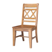 Canyon Wooden Pecan Dining Chairs