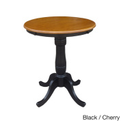 80cm Round Top Two-tone Pedestal Table