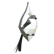 Sprout GARDEN Parrotbill Linen Paper Crafts Kits, Grey BLACK