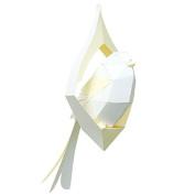 Sprout GARDEN Parrotbill Linen Paper Crafts Kits, Pure LEMON