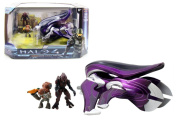 New HALO 4 BANSHEE VEHICLE 18cm WITH FIGURES Action Figure By Jada Toys