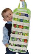 Easyview Shopkin Toy Organiser Green | Shopkins Hotwheels Matchbox Compatible