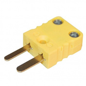 Digi-Sense Miniature Type-K Thermocouple Male Connector, 2 Pin