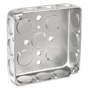Digi-Sense Outlet Box , 4x4, Metal
