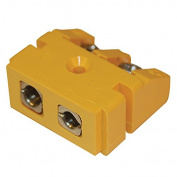 Digi-Sense Standard Rectangular Panel Mount, Type-K Thermocouple Female Connector, 2 Pin