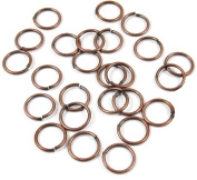 TierraCast Round 18 Gauge Open Jump Ring-COPPER 10mm