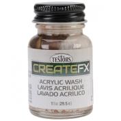 CreateFX Acrylic Wash 30ml-Maple