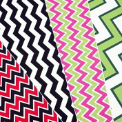 GRAB BAG of CHEVRON PATTERN Craft Vinyl! 8 6x6 Pieces Perfect for Vinyl Cutters