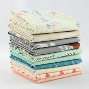 Hello, Bear Stone Fat Quarter Bundle (BC.HB.ST.10FQ) by Bonnie Christine for Art Gallery