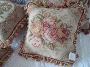 New Royal Collection Handmade Wool Needlepoint Cushion Cover/ Pillow Sham NP385