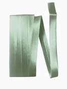 Bias Satin Tape ~ 1.3cm Wide Double-fold Bias Tape ~ Sea Green ~ Poly Cotton (3 Yards / Pack) Set of 4