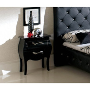 Luca Home Two-drawer Nightstand