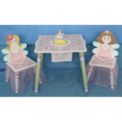 Flower Fairy Kids' 3-piece Table and Chair Set
