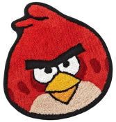 Angry Birds Cotton Bath Rug Red Accent Mat 25x22.25