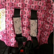 Baby Seat Strap Covers Brown Camo Sherrys Stock TM