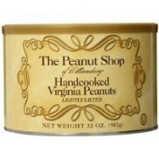 The Peanut Shop of Williamsburg Handcooked Virginia Peanuts, Lightly Salted, 950ml Thank you for using our service