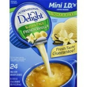 International Delight, Sugar Free, French Vanilla Non Dairy Creamer, 24 Count Creamer Singles (Pack of 3) Thank you for using our service