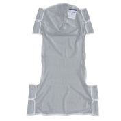 Drive Medical 13239d Patient Lift Sling with Head Support, Grey
