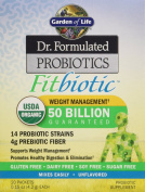 Garden of Life Dr. Formulated Probiotics, Fitbiotic, 20 Packets