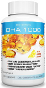 DHA Softgels with Lemon Flavour Dietary Supplement. Maintains Cardiovascular Health, helps Increase Brain Activity, Works to Improve Memory and Supports Visual Function! Worth a Try!