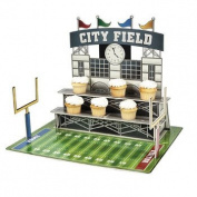 Large Football Stadium Cupcake Holder - Party Tableware Serveware