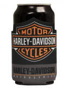 Harley-Davidson Classic Bar & Shield Can Flat Koozie, Black Neoprene CF30280