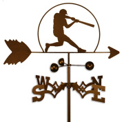Handmade Baseball Player Weathervane