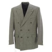 PIERRE CARDIN Men's Grey/Multi Tweed Suit Blazer 31952S Size 40 R $385 NEW