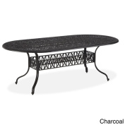 Floral Blossom Oval Dining Table