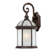 Nuvo Boxwood 1-light Rustic Bronze 41cm Wall Sconce