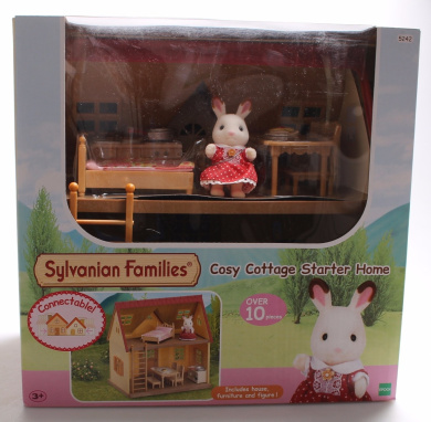 Sylvanian Families Window Pack New Cosy Cottage Starter Home Set