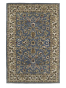 Kaleen Rugs Mystic Collection 6001-17 Blue Hand Tufted 1.5m ROUND Rug