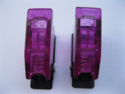 5 pcs Safety Flip Cover for Toggle Switch Transparent Purple