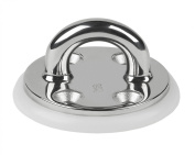 Schaefer Investment Cast Pad Eye on Round Base A-C/C 1-Inch (25mm) and B-C/C 1 1/2-Inch