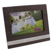 Sister Photo Frame Gift New Wood With Sentiment 6 x 4